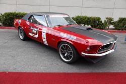 Bob Guido's 1969 Ford Mustang at the 2016 SEMA show