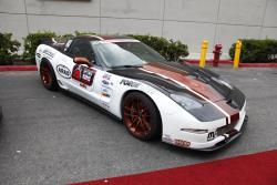 Randy Johnson's 2002 Chevrolet Corvette at the 2016 SEMA show