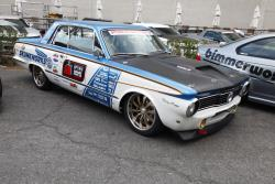 Kevin Tully's 1964 Plymouth Valiant Signet 200 at the 2016 SEMA show