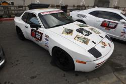 Chris Porter's 1986 Porsche 948 at the 2016 SEMA show
