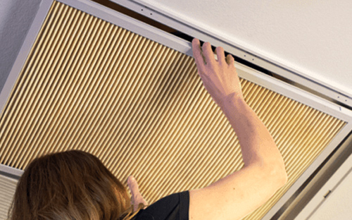 k&n home air filter installation