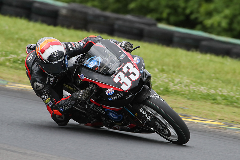Kyle Wyman racer