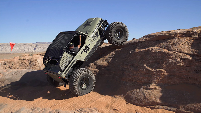Rockstar Performance Garage's GRDLOC Jeep build