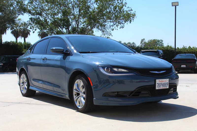 The 2016 Chrysler 200 3.6L provides 295-horsepower with 262 lb./ft. of torque