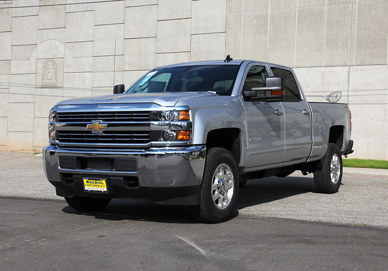 The 2015 Chevrolet Silverado 2500 HD