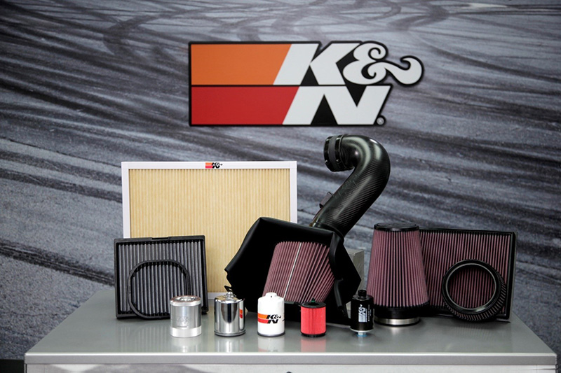 K&N offers air filters, cold air intake systems, home air filters, cabin filters, oil filters, and more