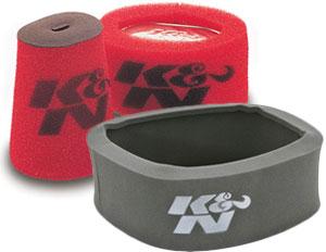 K&N Airforce Foam Air Filter Wraps