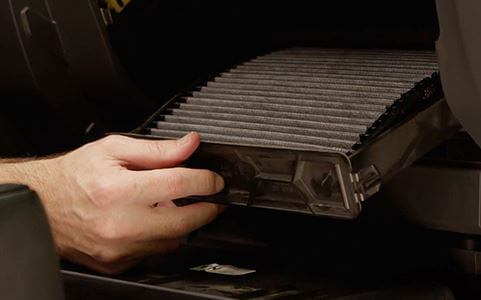replacing cabin filter