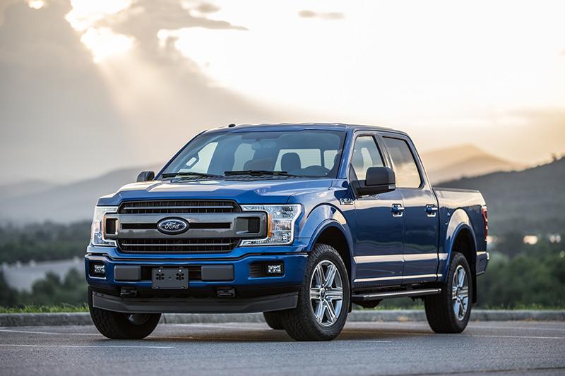 Blue 2019 2020 Ford F150