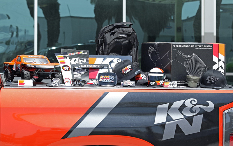 Awesome prizes you can win from K&N