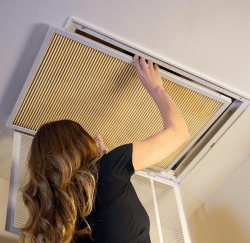 installing washable furnace filter