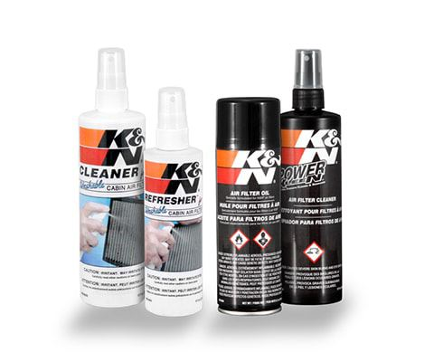 K&N cleaning kits