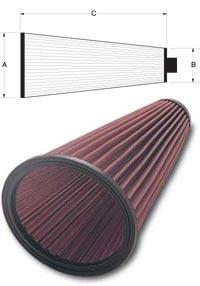 K&N Racing Cone Air Filters