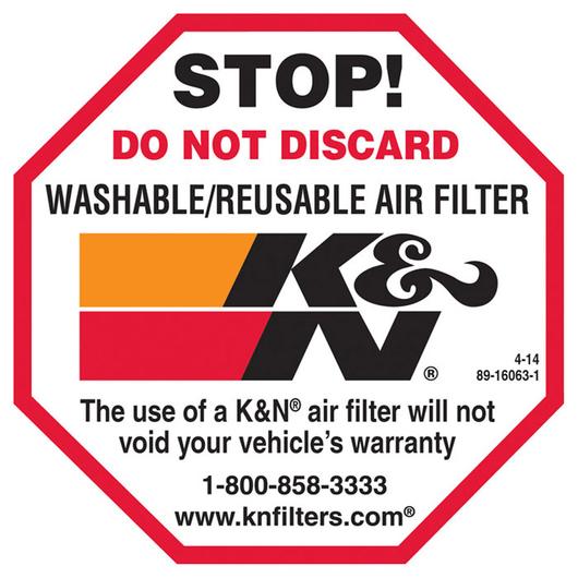 K&N Response to Mass Air Flow Sensor Concerns